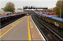 SU6400 : Towards Fratton railway station, Portsmouth by Jaggery