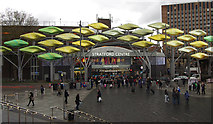 TQ3884 : Stratford Centre by Julian Osley