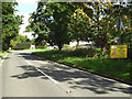 SP1472 : Acute bend, B4101 Spring Lane, near Hockley Heath by Robin Stott