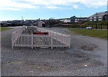 ST1167 : Buffers at the end of the line, Waterfront platform, Barry by Jaggery