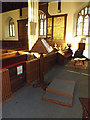 TM3292 : Lectern of St.Mary's Church by Adrian Cable