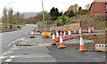 J3683 : Road construction, Jordanstown (6) by Albert Bridge