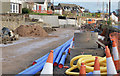 J3784 : Road construction, Jordanstown/Greenisland (4) by Albert Bridge