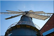 TF1443 : Tower Mill, Heckington by Dave Hitchborne