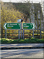 TM3490 : Roadsigns on the A143 Yarmouth Road by Geographer