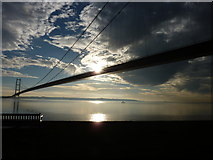 TA0225 : Humber bridge by roger nightingale