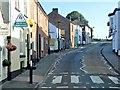 SZ6087 : Pedestrian Crossing, Brading High Street by David Dixon