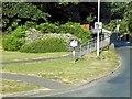 SZ5792 : Entering Binstead by David Dixon