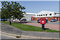 SN6180 : Royal Mail delivery office by Ian Capper