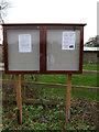 TM3775 : Walpole Village Notice Board by Adrian Cable