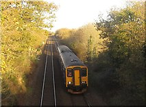 SX3358 : Train, Trerulefoot by Derek Harper