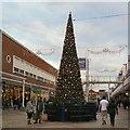 SJ8990 : Merseyway Christmas Tree 2013 by Gerald England
