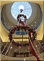 TQ2980 : Christmas decorations at Fortnum and Mason by pam fray