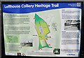 SE3224 : Lofthouse Colliery Nature Park, Heritage Trail #3 by Mike Kirby