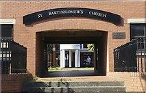 SK3488 : This way to St Bartholomew's Church, Burgoyne Road, Sheffield by Terry Robinson