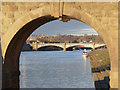SK5838 : Trent Bridge framed by Alan Murray-Rust
