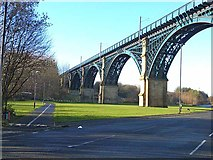 NZ3166 : Viaduct over Willington Gut by Oliver Dixon