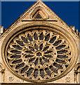 SE6052 : Rose window, York Minster by Chris Denny