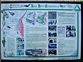 SP0588 : Key Hill Cemetery, Hockley: interpretive sign by Robin Stott