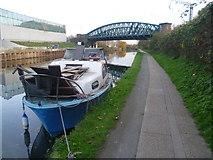 TQ2182 : Paddington Arm of the Grand Union Canal near Old Oak Lane by Marathon