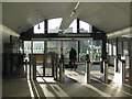 SP0687 : Ticket hall, barriers and exit to Livery Street, Snow Hill station by Robin Stott