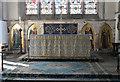 TF0705 : Altar and reredos, St John the Baptist church, Barnack by J.Hannan-Briggs
