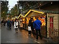 SJ8398 : Manchester Christmas Market, Corporation Street by David Dixon