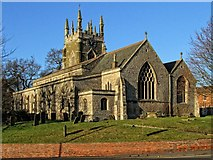 TF4066 : The Church of St James, Spilsby by Dave Hitchborne