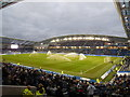 TQ3408 : Sprinklers at the Amex by Paul Gillett
