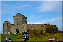 M3810 : Galway Bay - Dunguaire Castle (16th century tower house) by Joseph Mischyshyn
