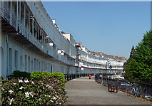 ST5672 : Royal York Crescent, Bristol by Stephen Richards