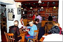 M2208 : Ballyvaghan - Monk's Seafood Pub & Restaurant - Pub Area by Joseph Mischyshyn