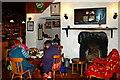 M2208 : Ballyvaghan - Monk's Seafood Pub & Restaurant - Lounge Area of Pub by Joseph Mischyshyn