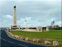 SZ6398 : Royal Naval war memorial by Robin Webster