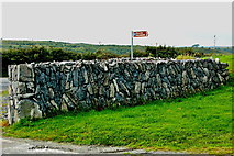 M2300 : Burren - Stone Wall at Poulnabrone Dolmen Parking Area   by Joseph Mischyshyn