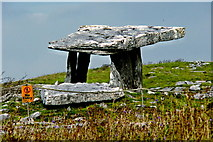 M2300 : Burren - Poulnabrone Dolmen - View to Northeast by Joseph Mischyshyn