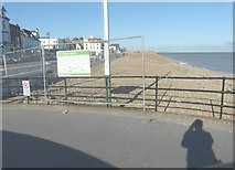 TR3752 : Looking north from the entrance to Deal Pier by John Baker