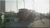 TQ3884 : View of the Robert steam engine from Stratford by Robert Lamb
