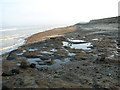 TG3830 : Coastal erosion at Happisburgh by Evelyn Simak