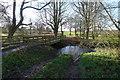 SK9230 : Lane to Dunkirk Farm, Great Ponton by Tim Heaton