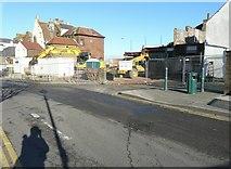 TR3752 : Demolition of buildings by John Baker