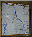 TA0388 : Scarborough Railway station - North Eastern Railway tile map by Christopher Hall