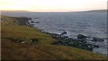 HU5699 : Scorda Skerry, Head of Mula, Belmont by Mike Pennington