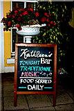R4460 : Bunratty - Kathleen's Bar - Sign near Entrance by Joseph Mischyshyn