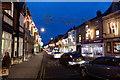 TF0920 : Christmas lights, North Street by Bob Harvey