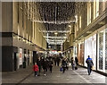 SJ3490 : Christmas lights, Liverpool by William Starkey