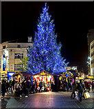 SJ3490 : Christmas shopping, Liverpool by William Starkey