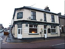 TQ7369 : The Weston Arms, Strood by Chris Whippet