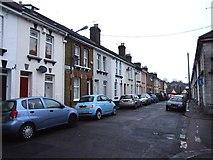 TQ7369 : Cross Street, Strood by Chris Whippet
