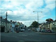 N7895 : The upper end of Kingscourt's Main Street by Eric Jones